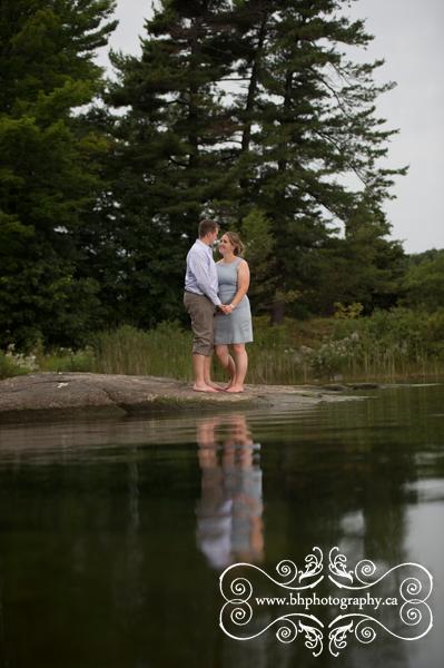 Water engagement photo