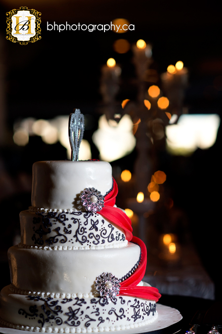 Wedding cake in Kingston