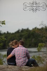 Wedding engagement photograph