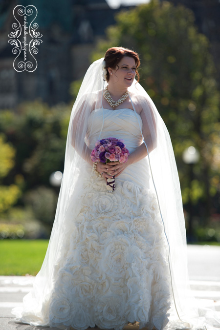 Bride waits for groom