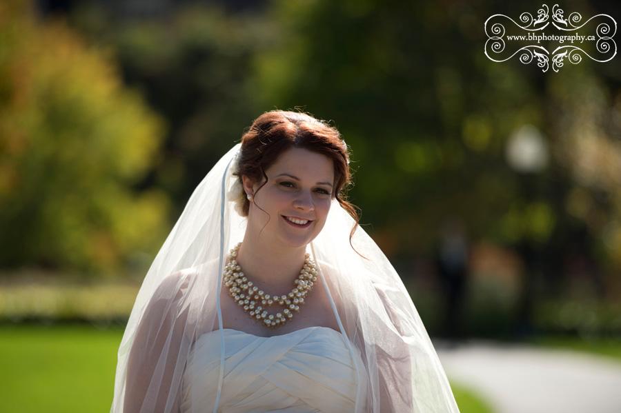 Bride's anticiation
